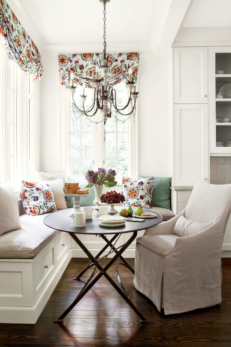 Suzanne Kasler Breakfast Nook Makeover