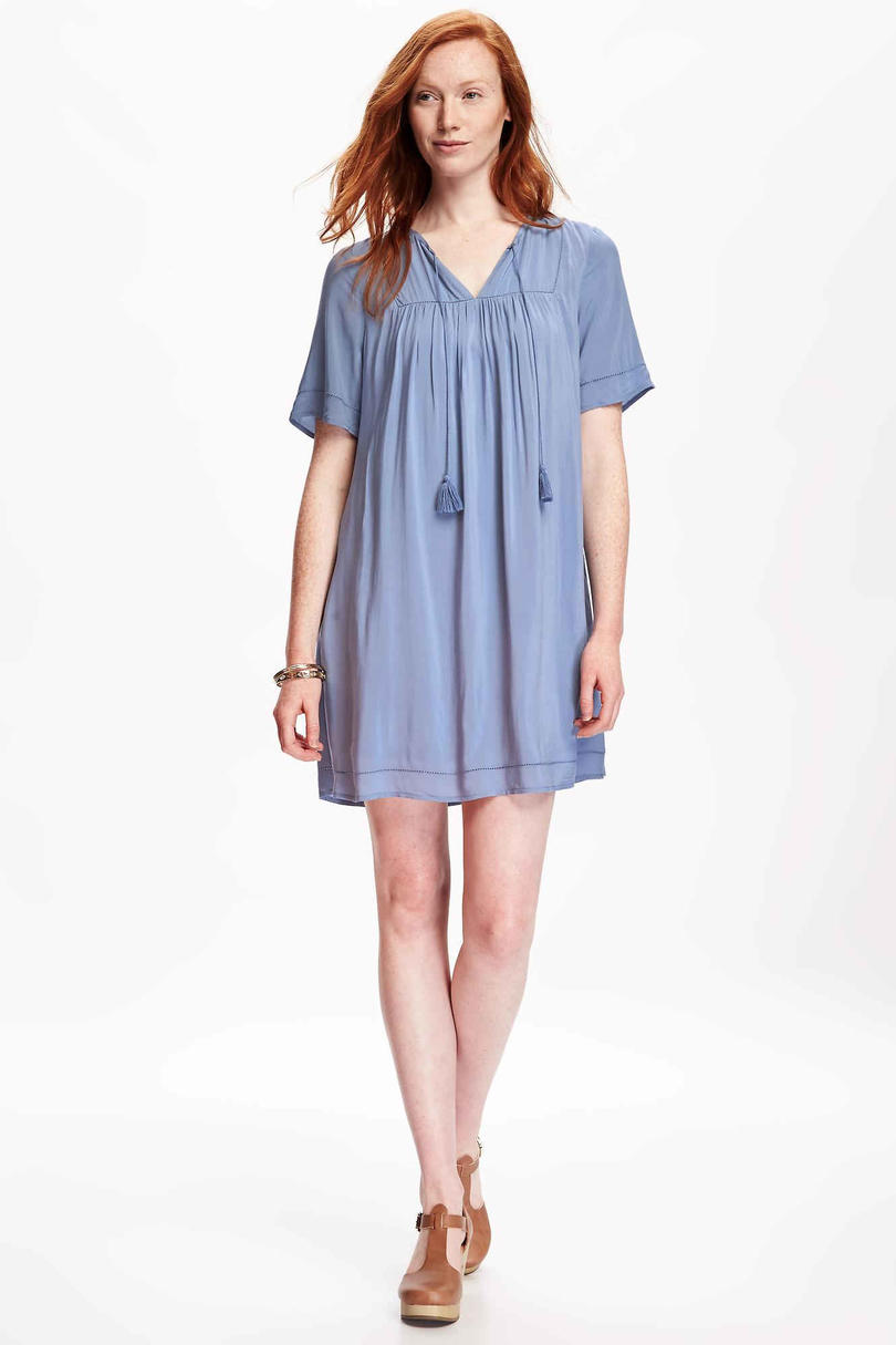 Tassle Boho Swing Dress from Old Navy