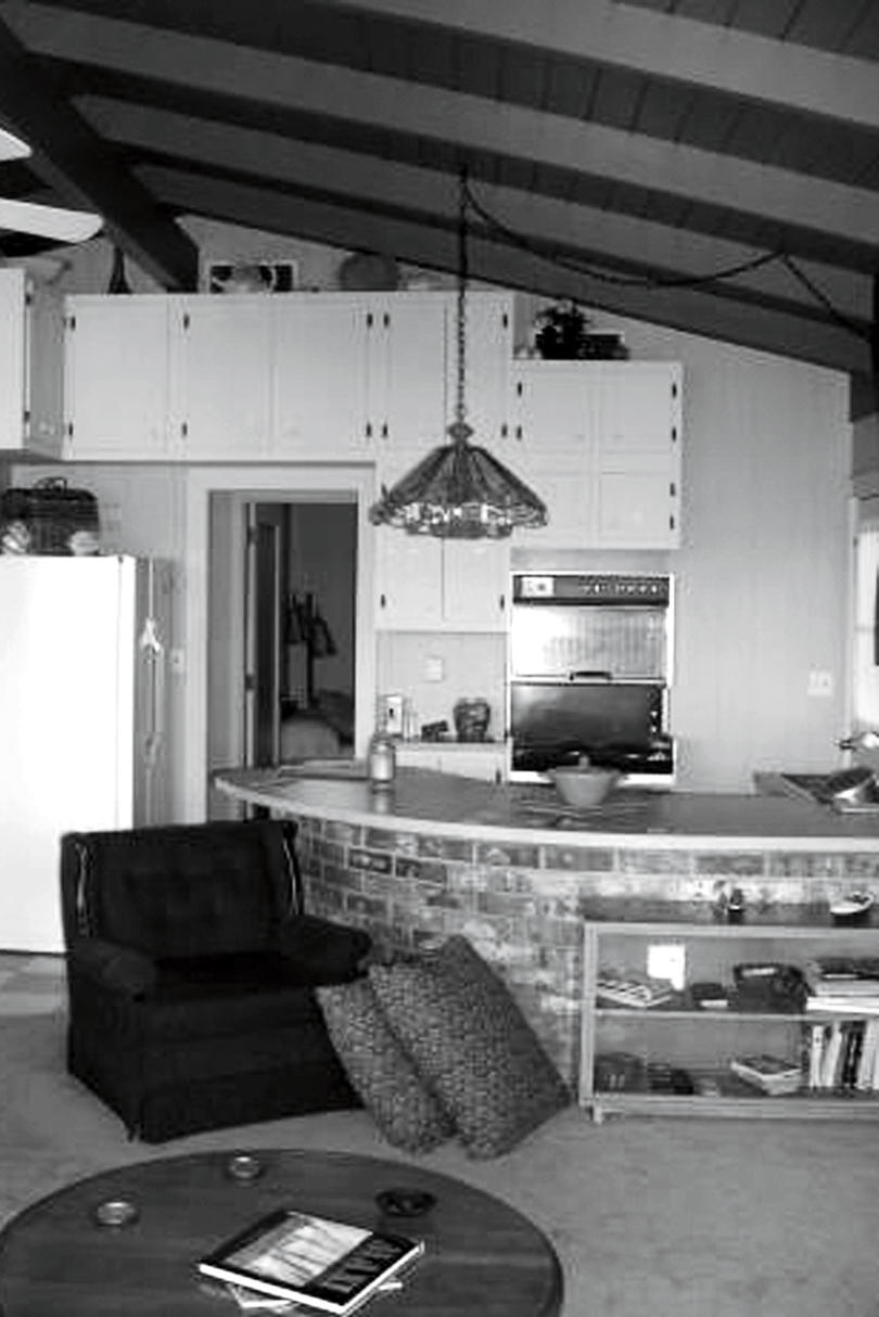 Outdated Ranch Kitchen Before