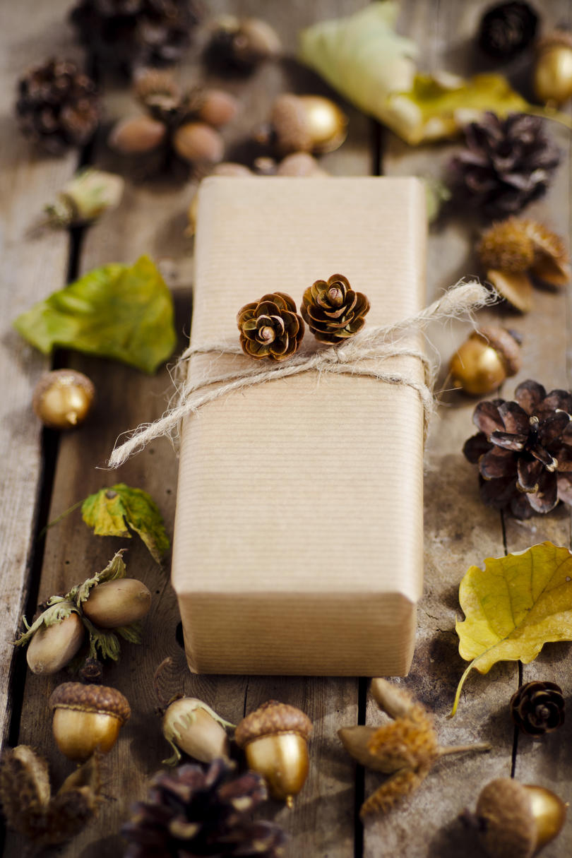 Thanksgiving Gift Wrap