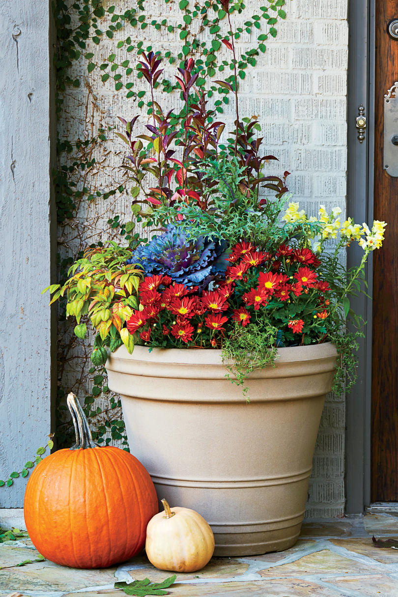 Marvelous Fall Gardening Ideas Part - 5: Tennessee And The Great Smoky Mountains Regional Container
