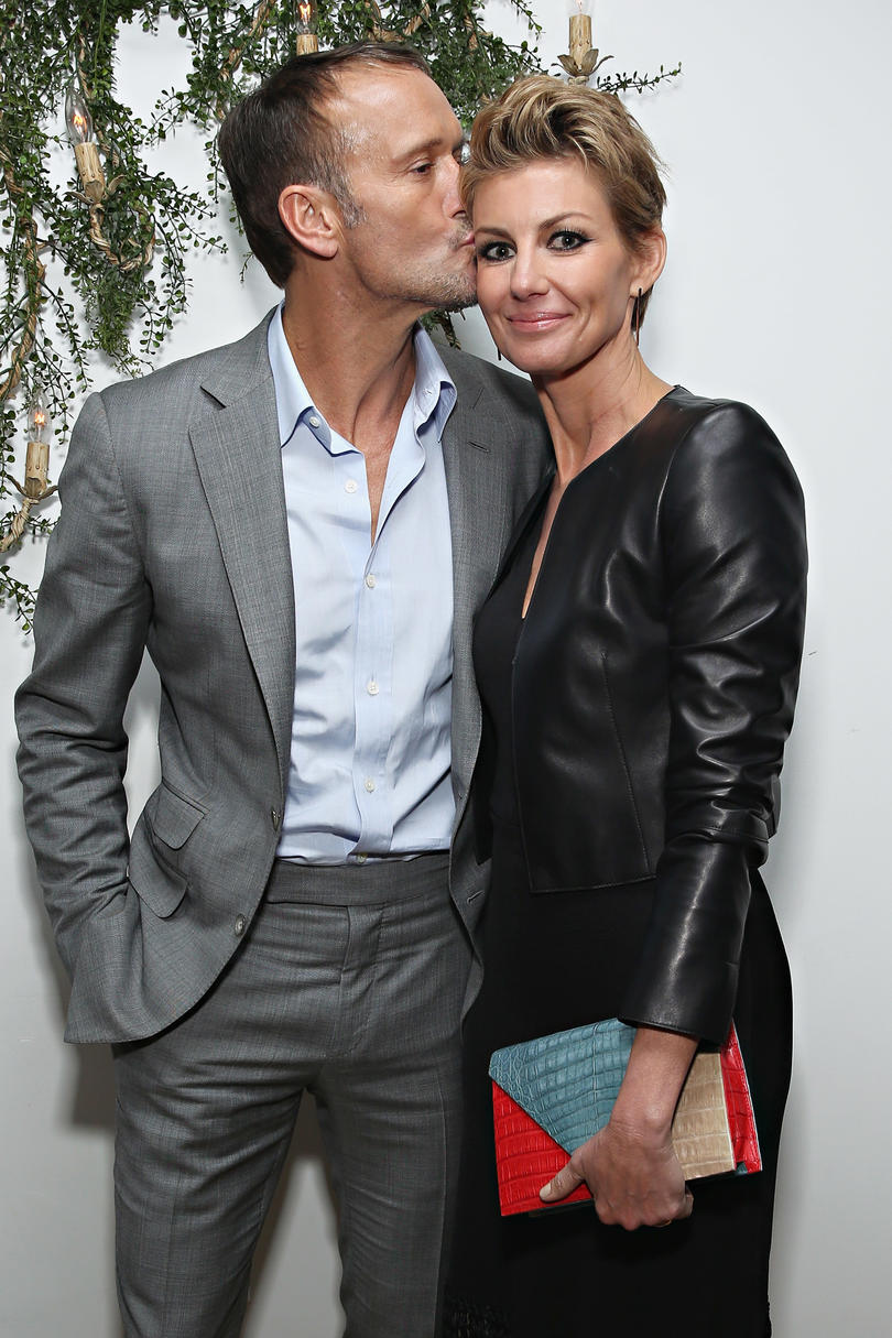 Tim and Faith Attend Tribeca Film Festival