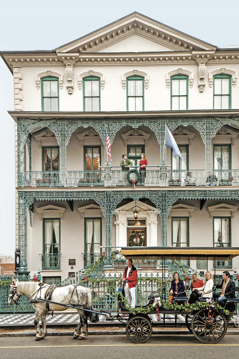 John Rutledge House Inn at Christmas Charleston, SC