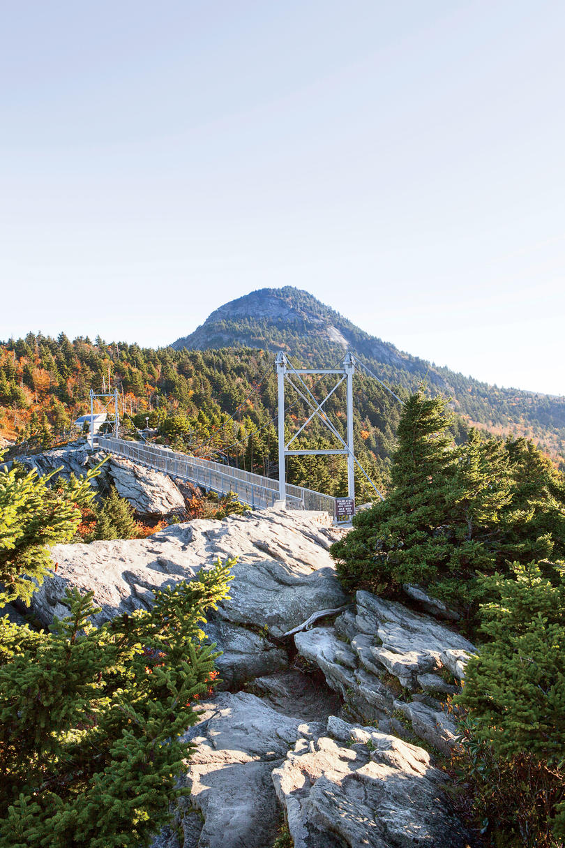 Mile High Swinging Bridge