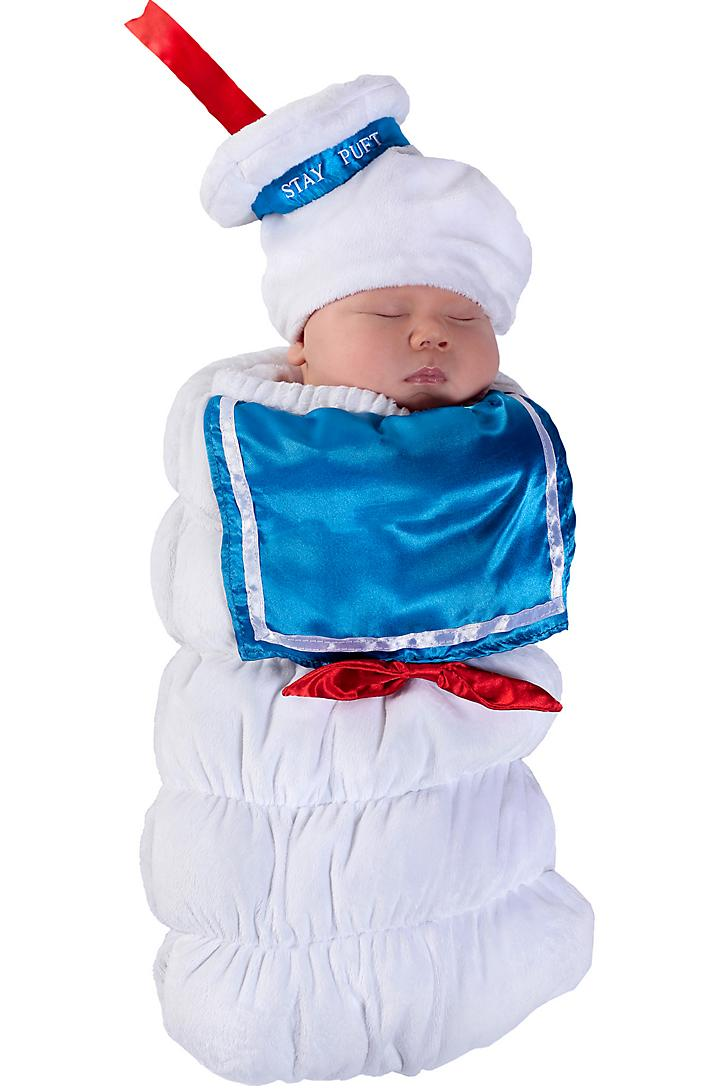 Stay Puft Marshmallow Man Baby Halloween Costume