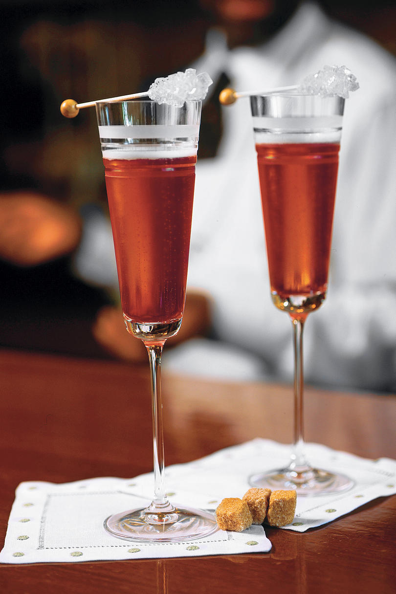 Champagne Mixed Drinks Of Champagne Cocktail Recipes Southern Living