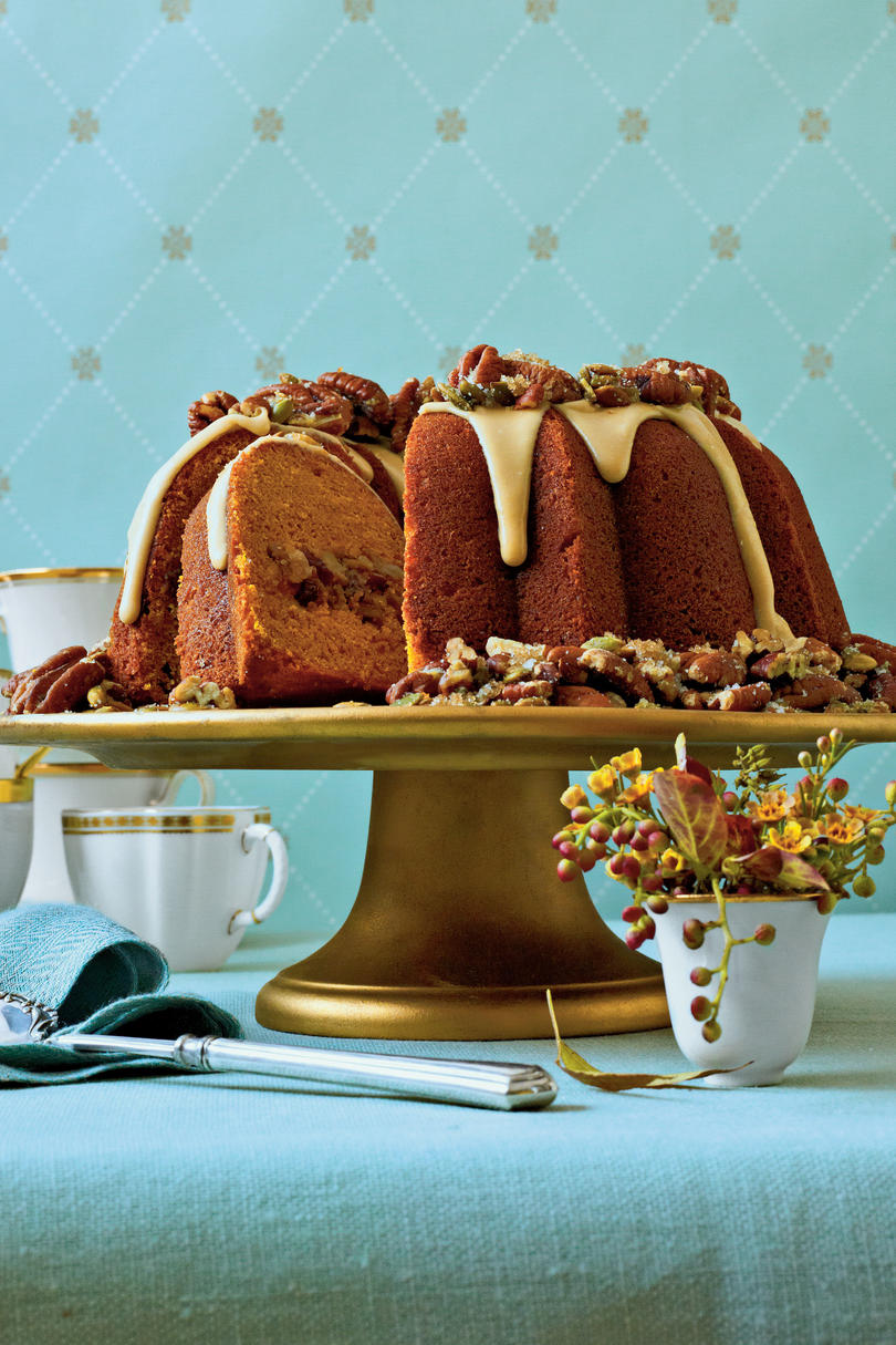 Cranberry-Apple-Pumpkin Bundt