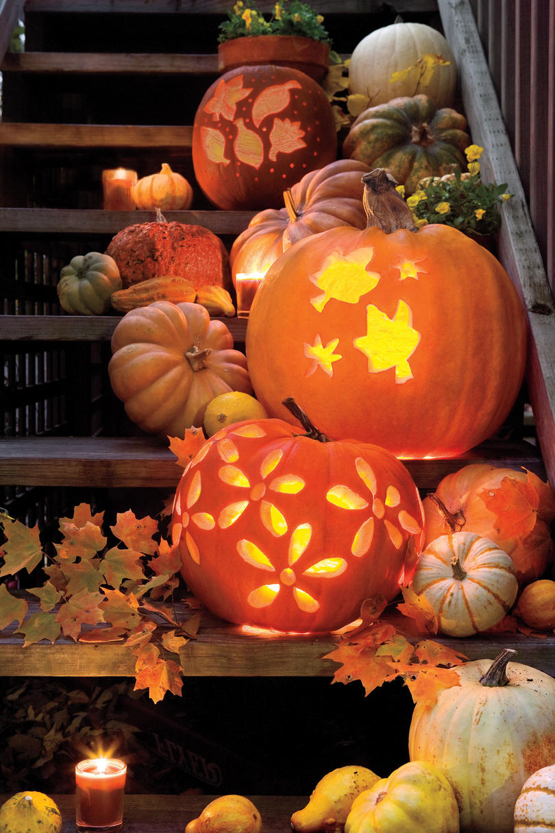 Uncategorized Easy Creative Pumpkin Carving Ideas 33 halloween pumpkin carving ideas southern living templates