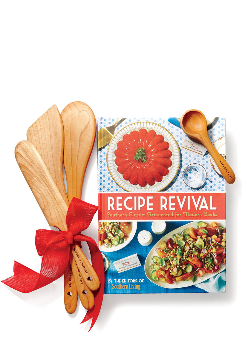 Belle & Union Co. Hand-Carved Utensils and Recipe Revival Cookbook