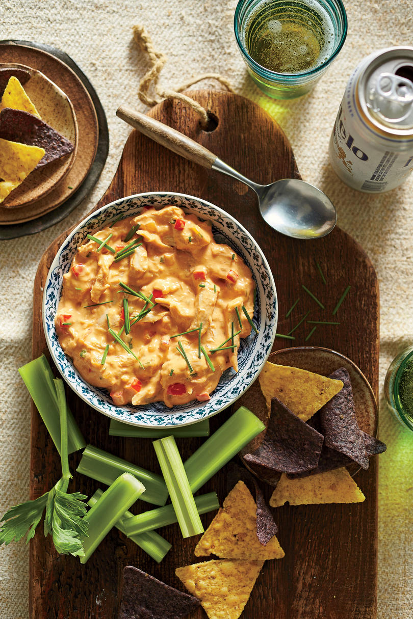 Hot-Sauce-and-Honey-Chicken Dip