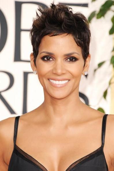 Halle Berry Classic Haircut