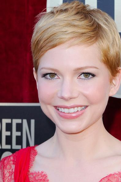 Michelle Williams Classic Haircut