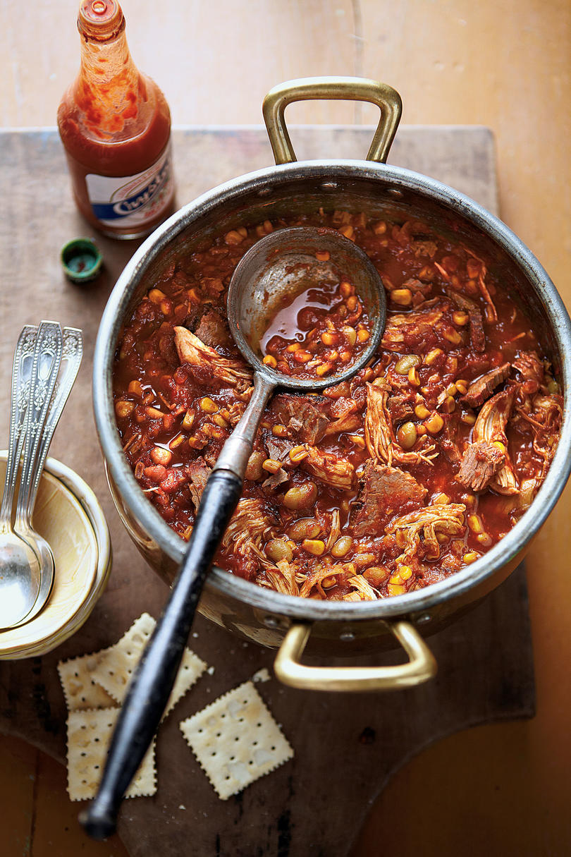 Chicken Soups Chicken-and-Brisket Brunswick Stew