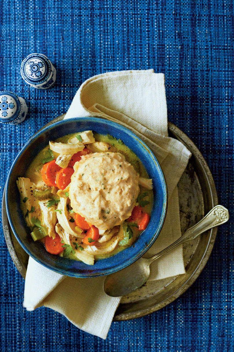 Chicken Soups Chicken and Cornbread Dumplings