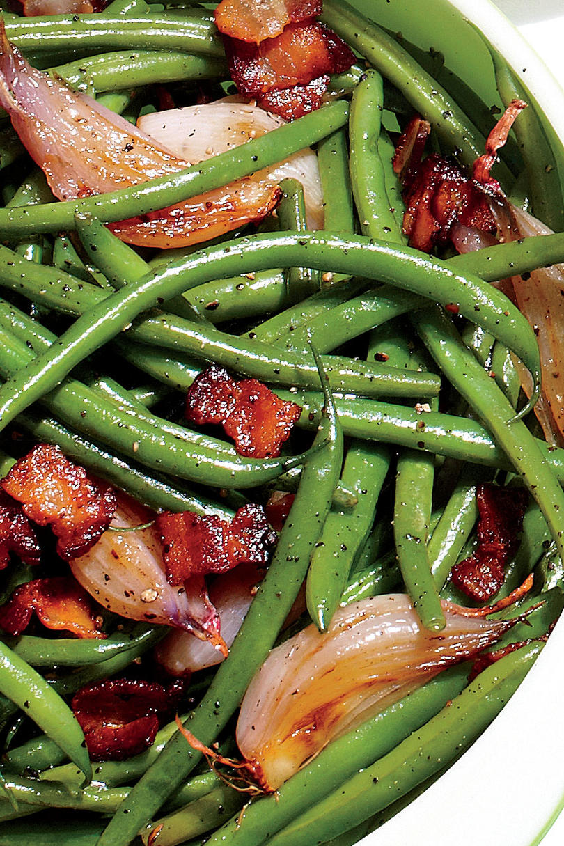 Thanksgiving Skillet Dishes Skillet Green Beans