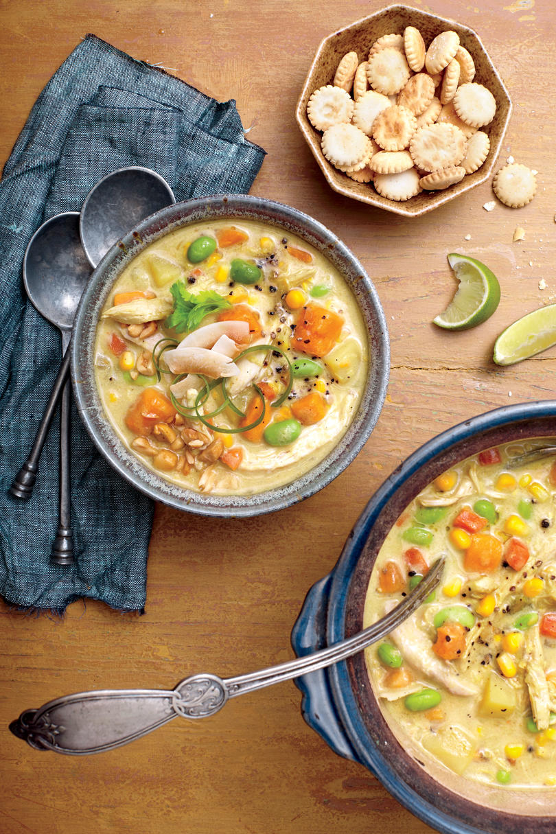 Chicken Soups Curried Chicken Chowder