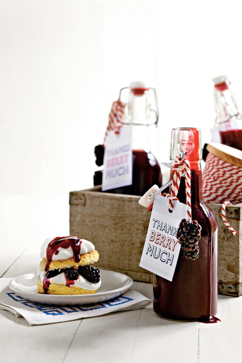 Sweet Sauces and Syrups Blackberry Syrup