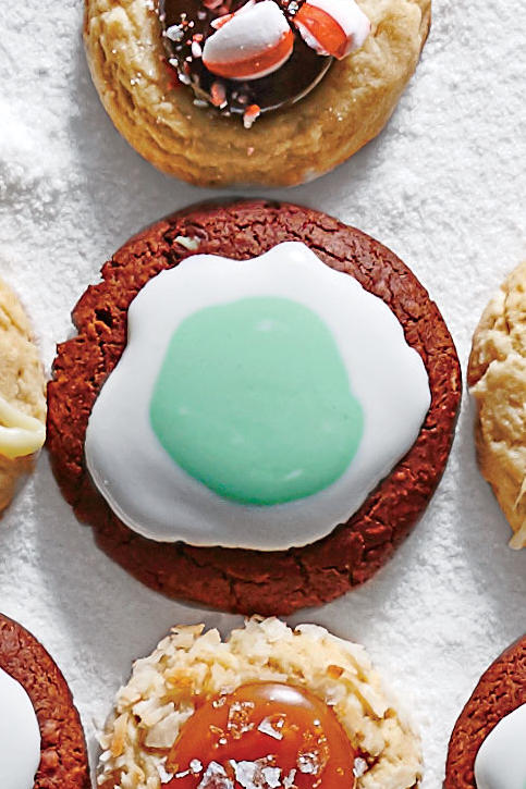 Triple Mint Cookies