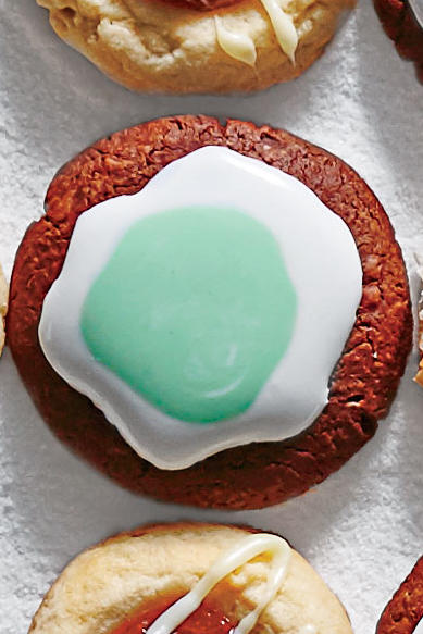 Varied Thumbprint and Triple Mint Cookies