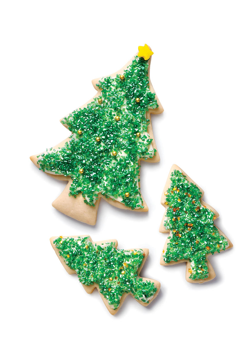 Soft Sugar Cookie Trees