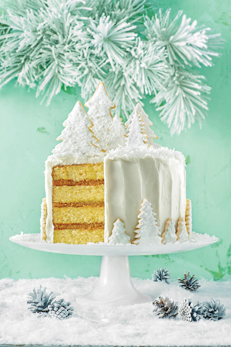 Coconut Cake with Rum FIlling and Coconut Ermine Frosting