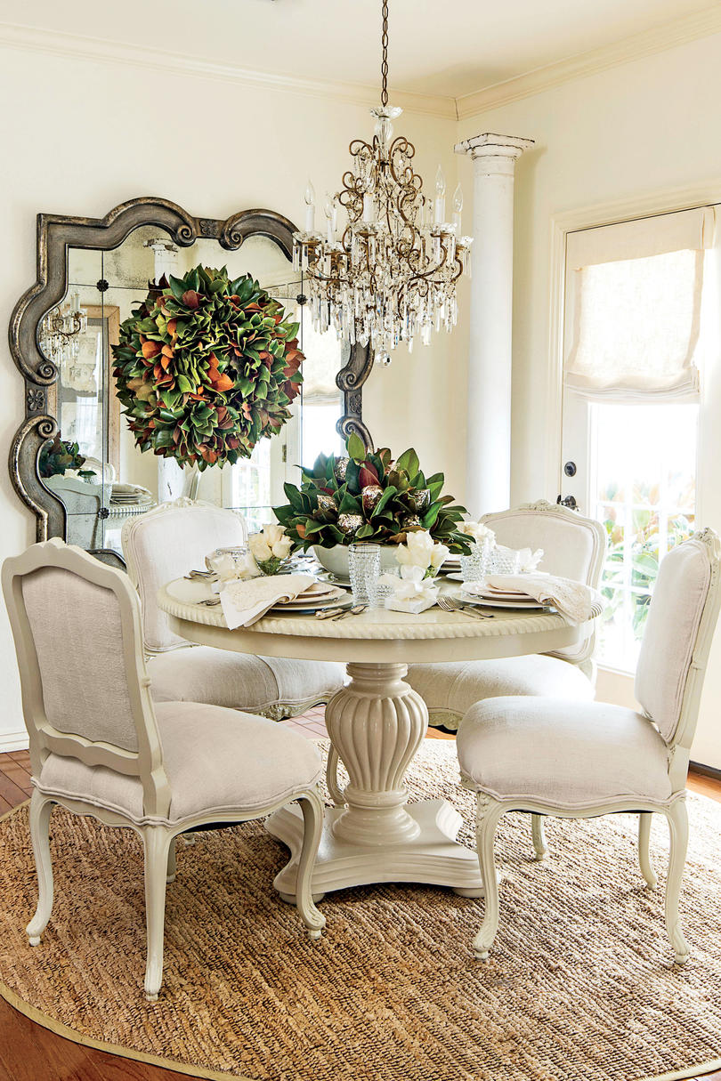 30 Ways To Create A Trendy Industrial Dining Room: 10 Ways To Decorate With Magnolia This Christmas