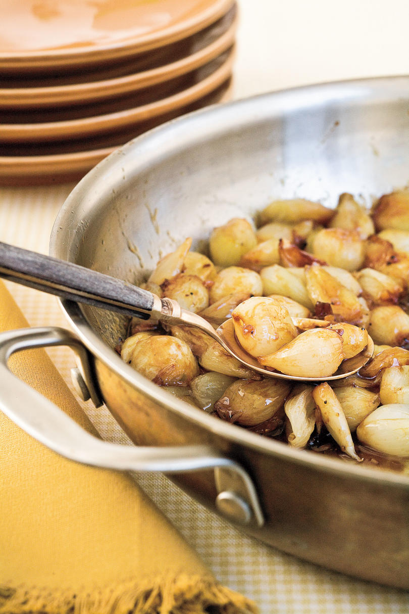Thanksgiving Skillet Dishes Baked Onions