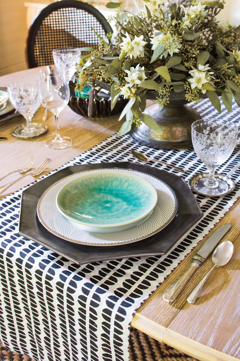 Graphic Table Runner