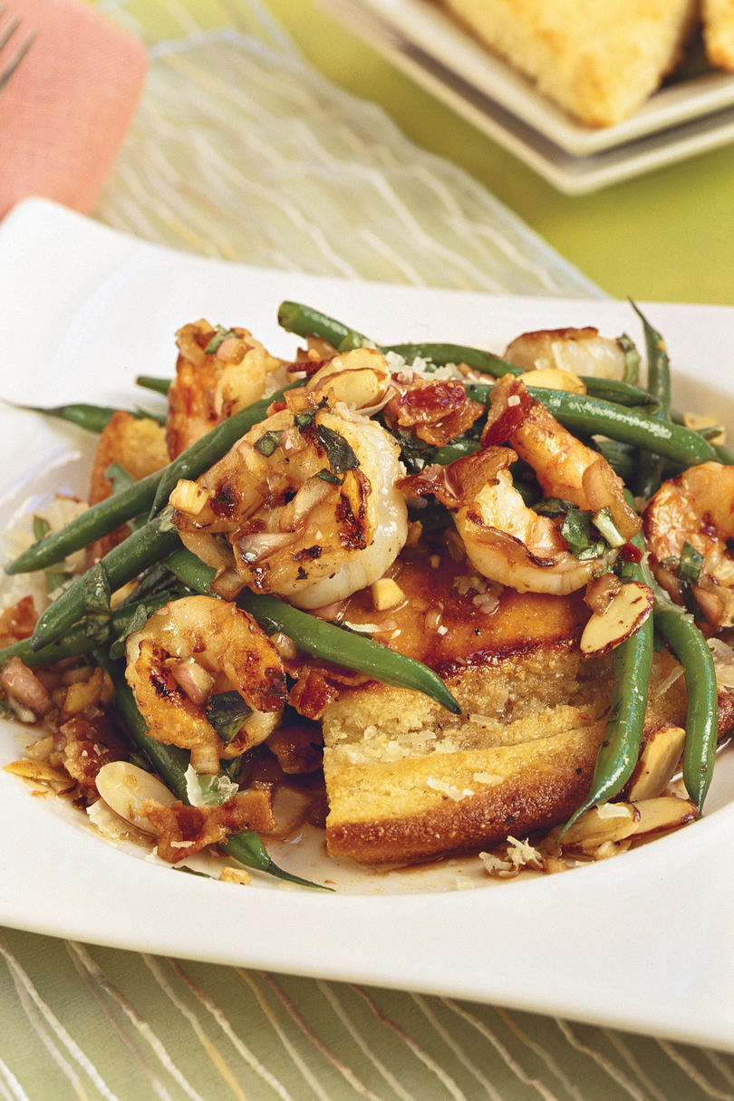 Grilled Shrimp and Green Bean Salad