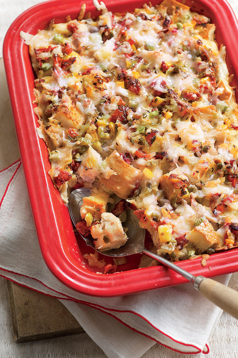 Brunch for a Crowd King Ranch Breakfast Strata