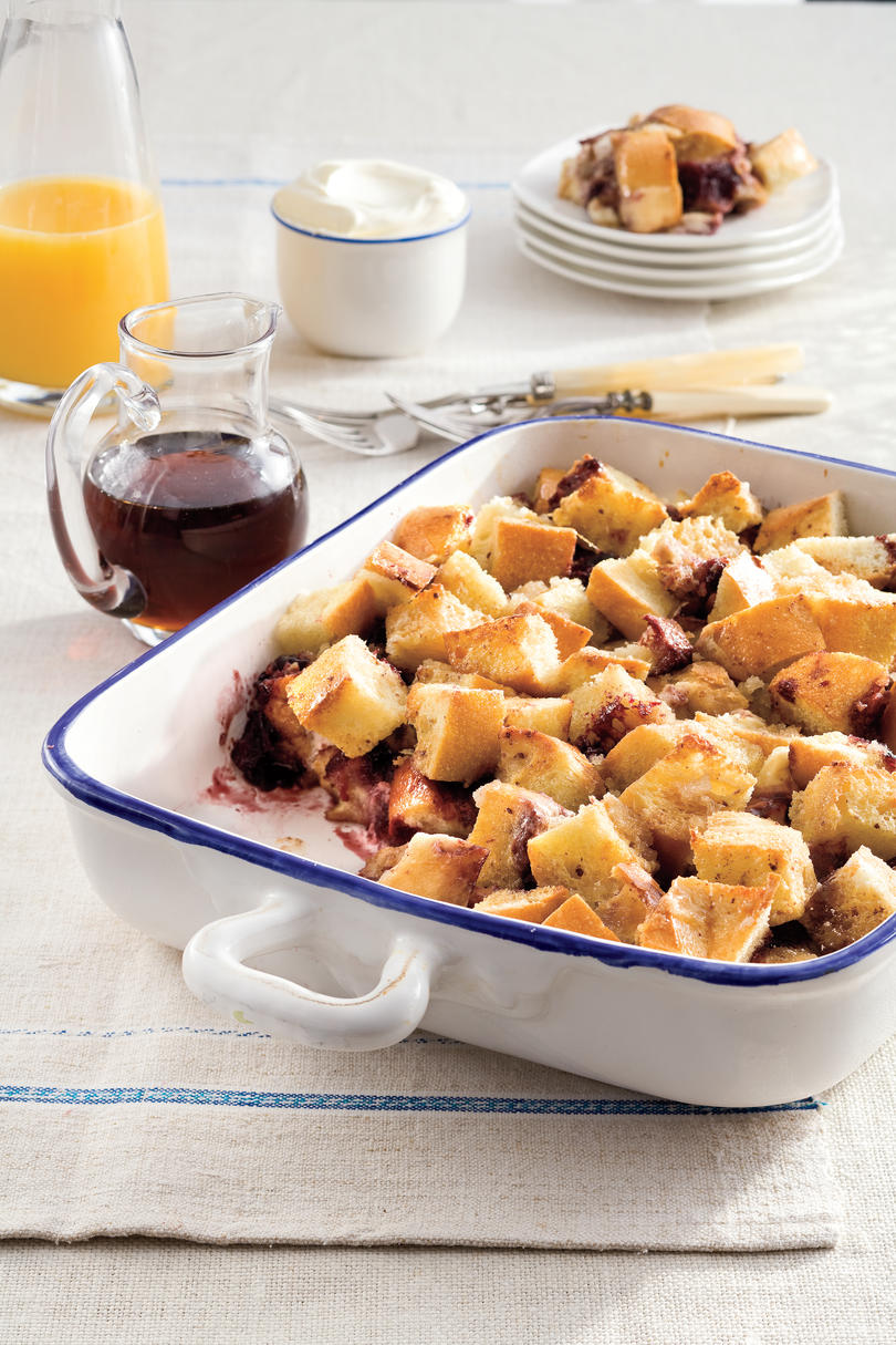 Brunch for a Crowd One-Dish Blackberry French Toast