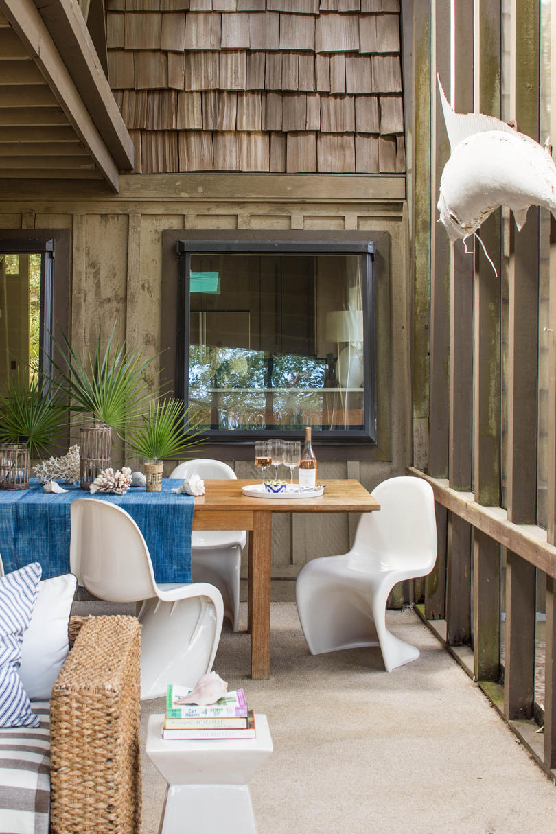 Wild and Funky Dining Space