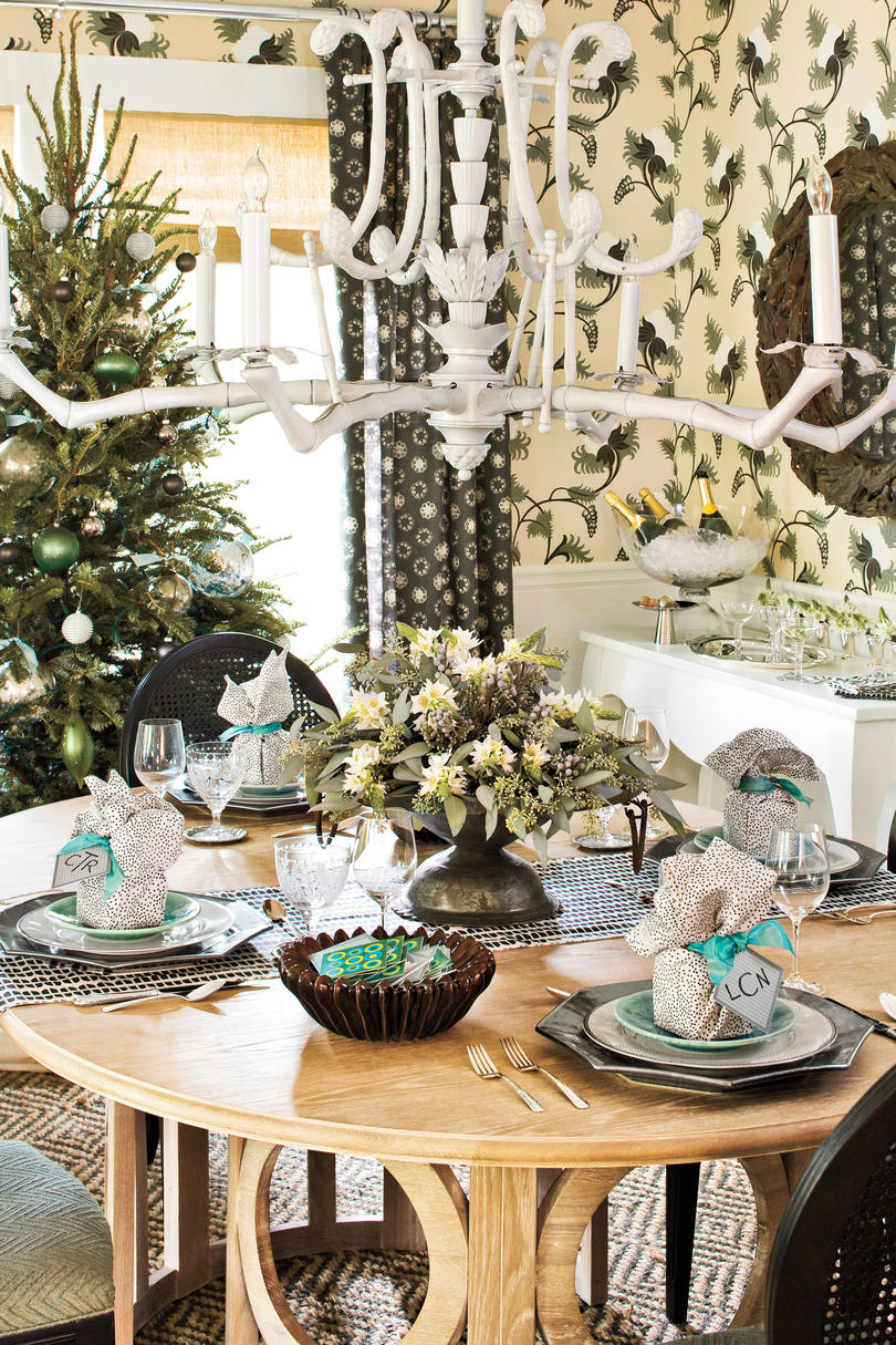 Funky and Festive Table