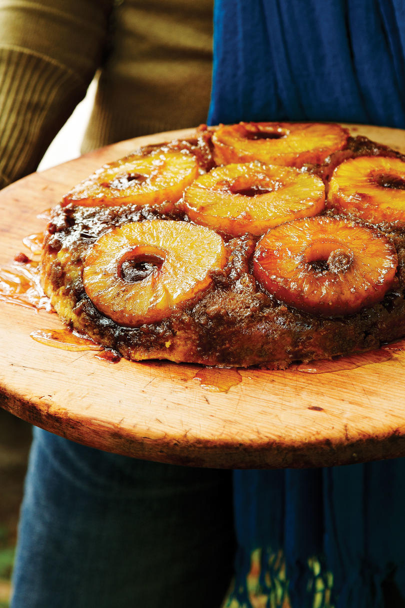 Pineapple-Upside Down Cake