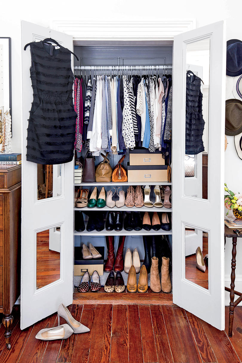10 shortcuts to an organized home southern living for Southern closets