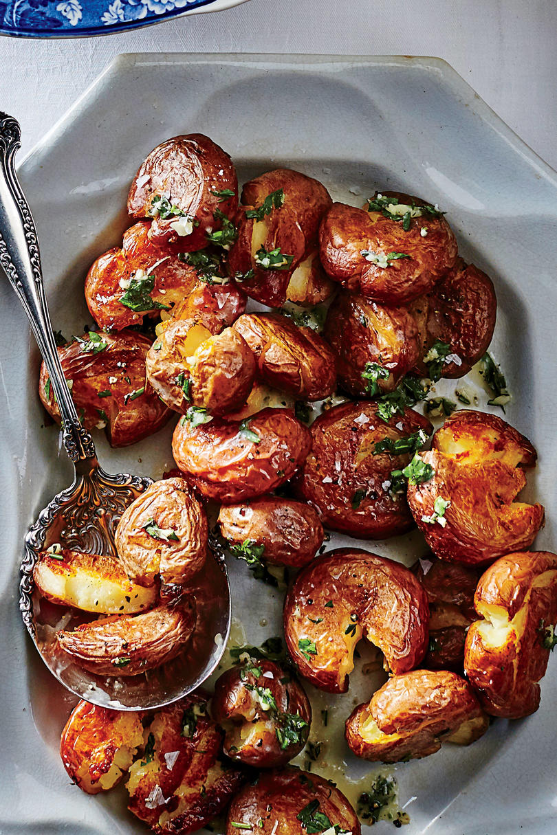 50 Best Thanksgiving Smashed Baby Red Potatoes