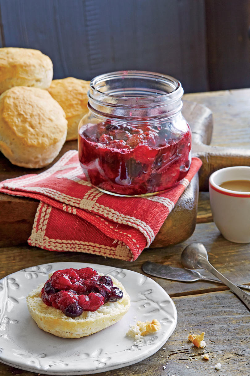 Strawberry-Blueberry Jam