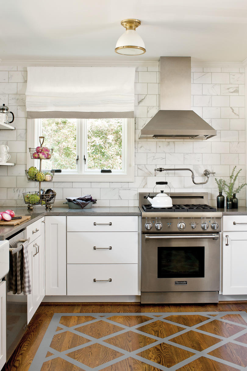 Tiny Kitchen Inspiration That You\'ll Want To Pin - Southern Living