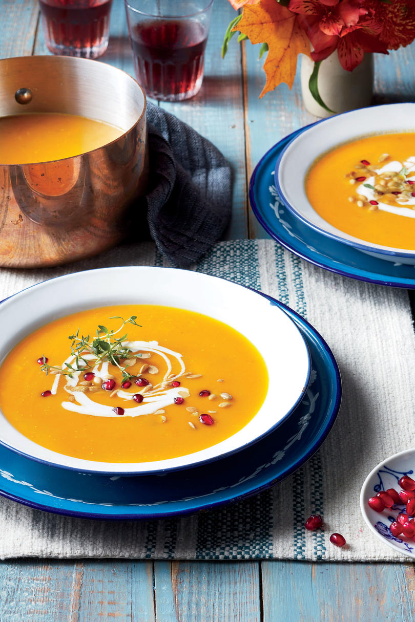 Roasted Pumpkin Soup