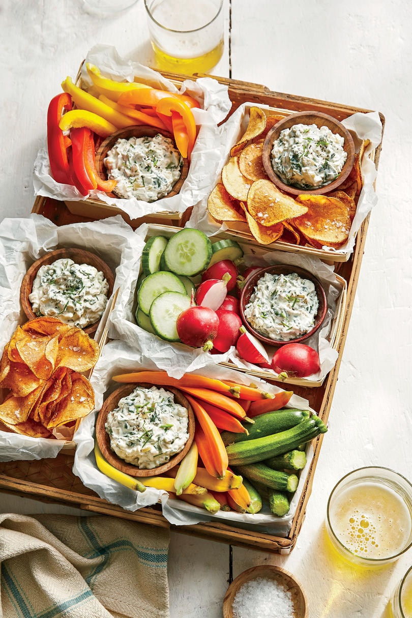 Spinach-and-Vidalia Dip