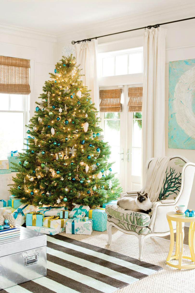 Coastal Christmas Home