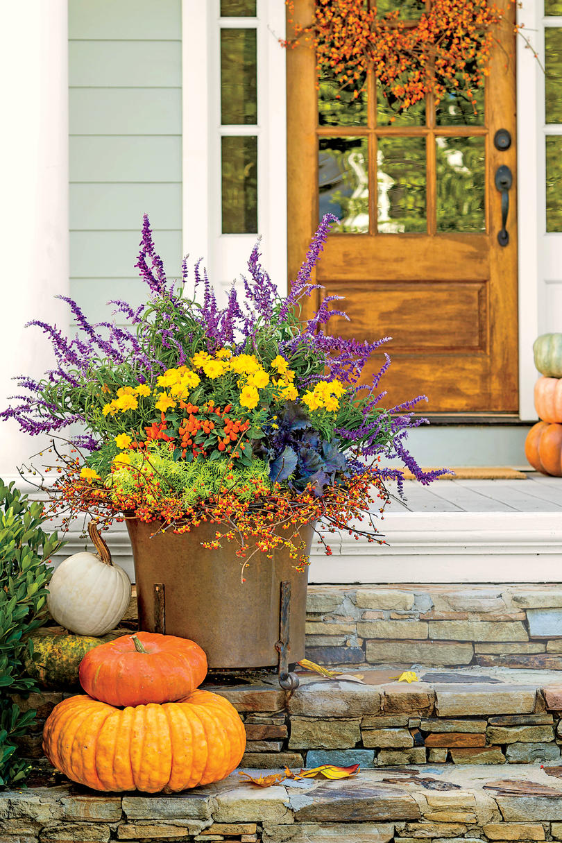 Fired Up Fall Container by Carmen Johnston