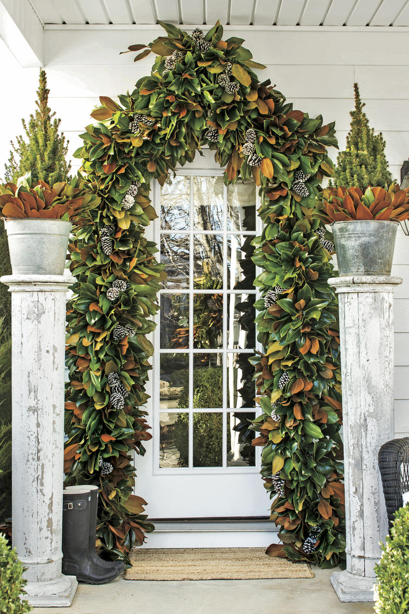 Christmas Exteriors Attention-Grabbing Archway