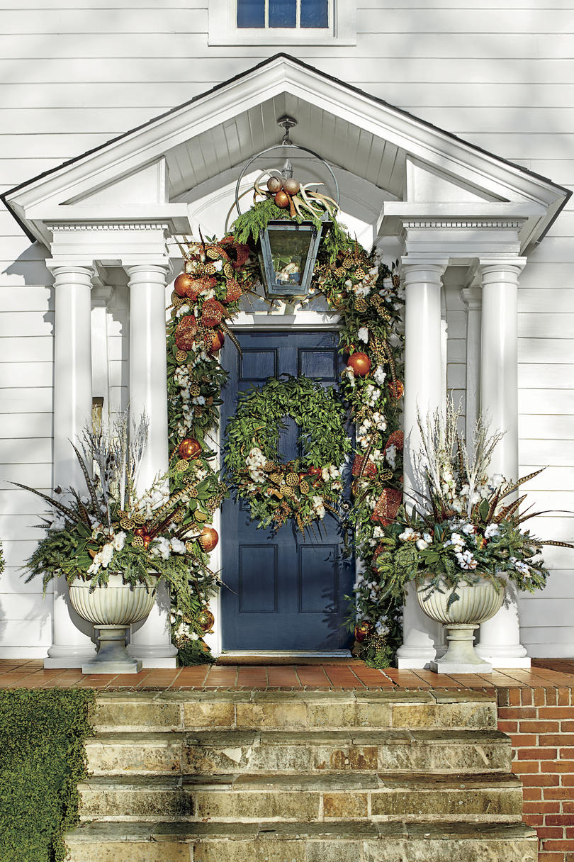 christmas exteriors organic overload