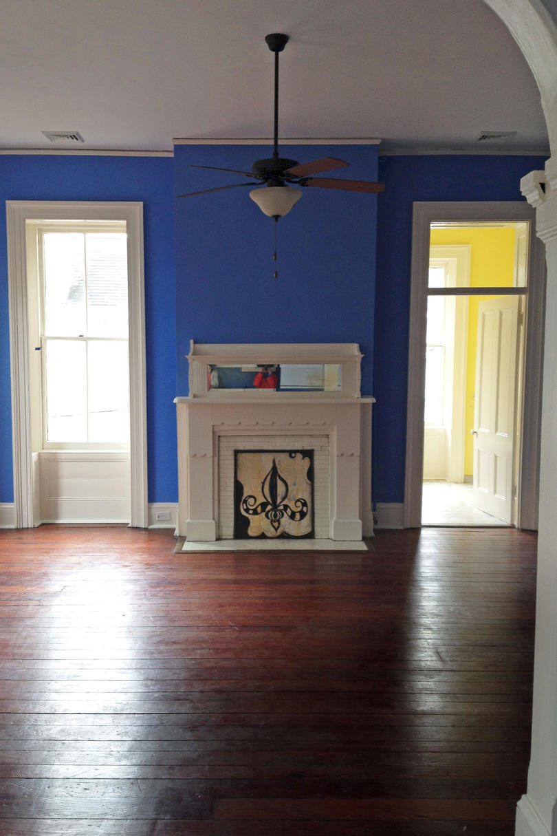 A Wilmington Jewel Box: The Living Area Before
