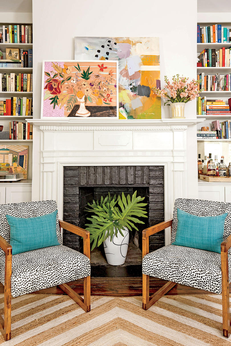 A Charleston Single House: The Living Room After