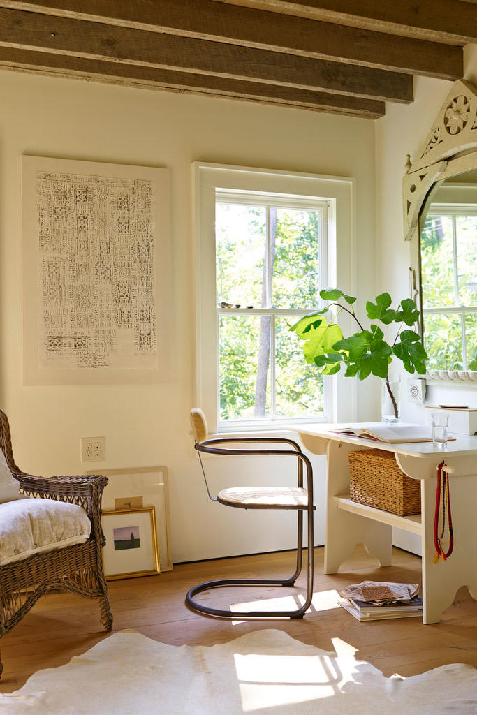 Neutral Brown Office Space