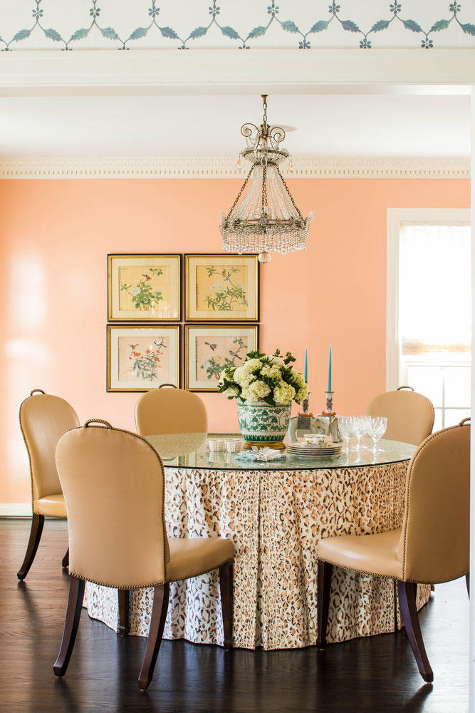 Coral Formal Dining Room