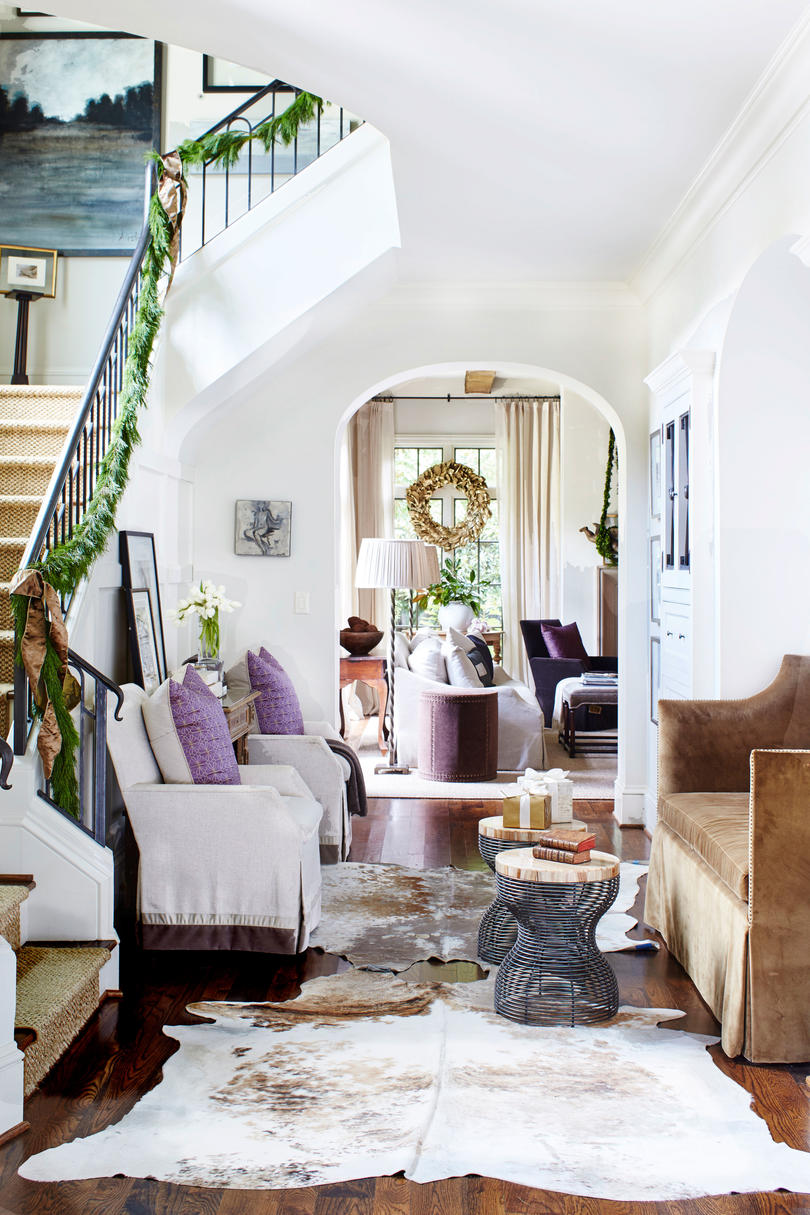 Foyer with Couch