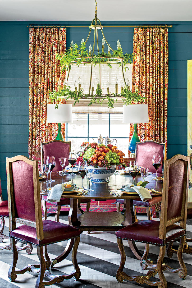 Christmas In The Dining Room Southern Living